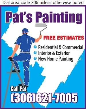 Pat's Painting - Painting Contractors Digital Ad