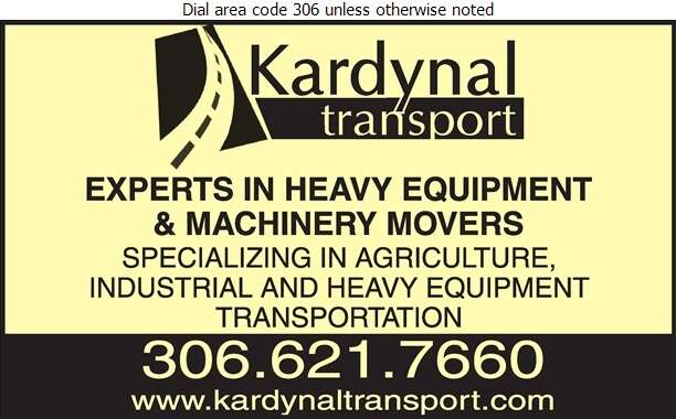 Kardynal Transport - Trucking Digital Ad