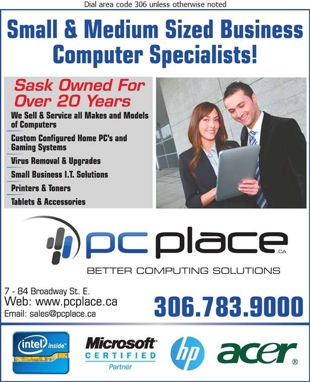 PC Place - Computers Digital Ad