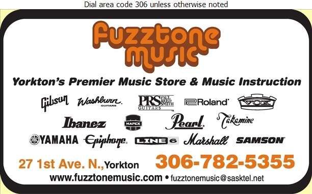 Fuzztone Music - Musical Instruments Retail Digital Ad