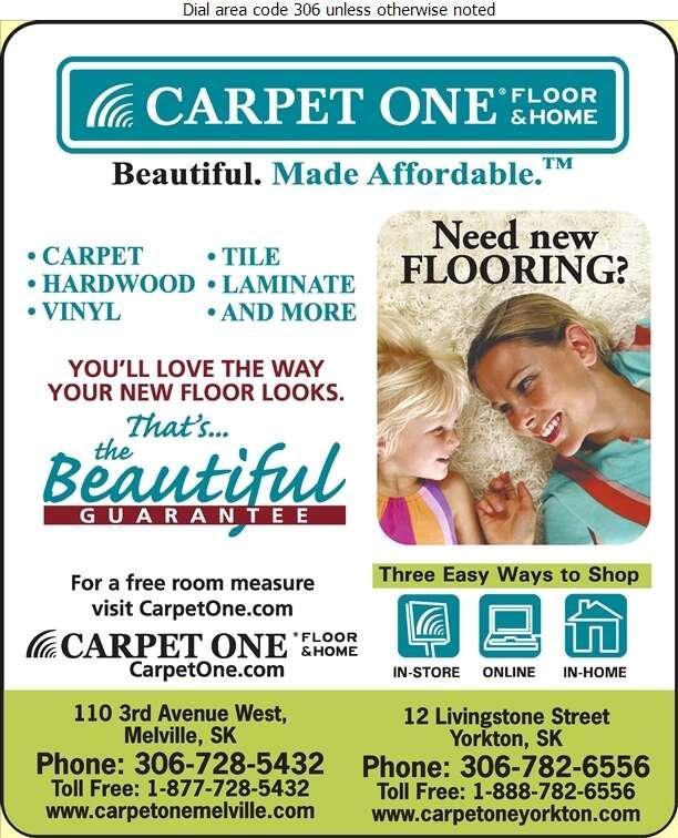 Carpet One Yorkton - Carpets & Rugs Retail Digital Ad