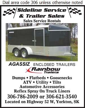 Sideline Service And Trailer Sales - Trailers Equipment & Parts Digital Ad