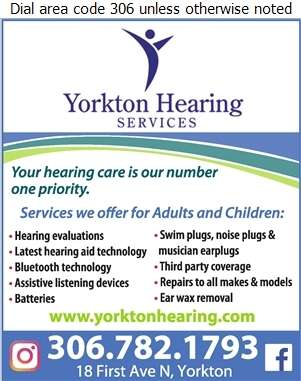 Yorkton Hearing Services - Hearing Assessment & Hearing Aids Digital Ad