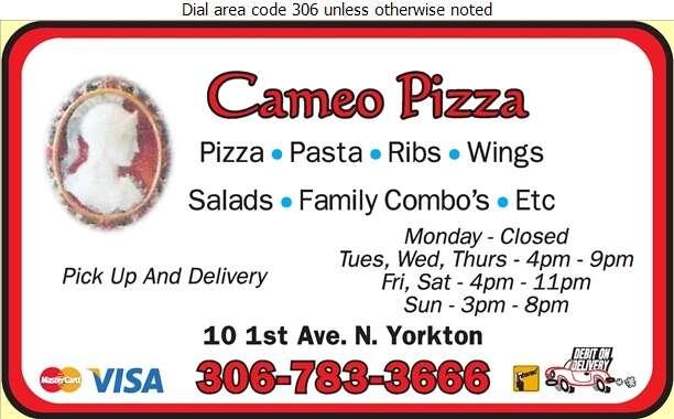 Cameo Pizza - Pizza Digital Ad