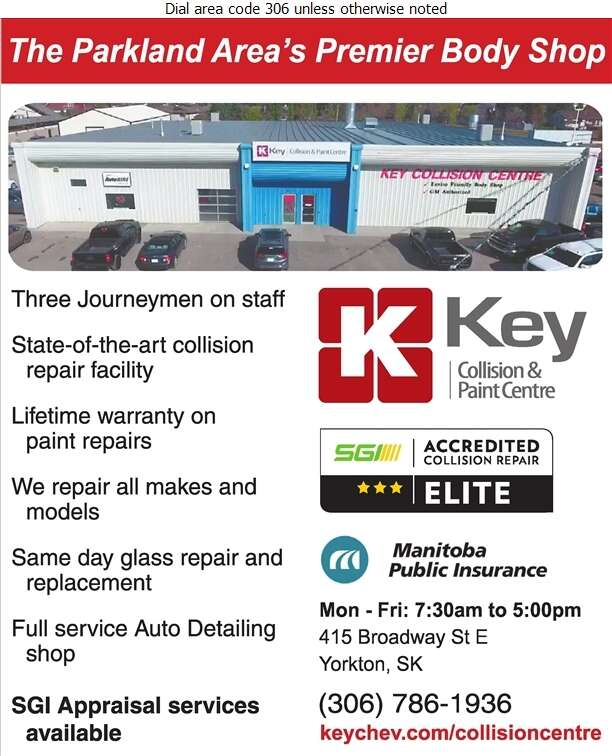 Key Collision Centre - Auto Body Repairing Digital Ad