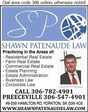 Shawn Patenaude Legal Prof Corp - Lawyers Digital Ad