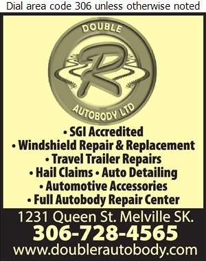 Double R Autobody - Auto Body Repairing Digital Ad
