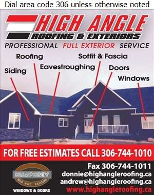 High Angle Roofing & Exteriors - Roofing Contractors Digital Ad