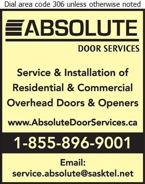 Absolute Door Services - Doors Overhead Digital Ad