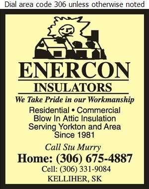 Enercon Insulators - Insulation Contractors Cold & Heat Digital Ad
