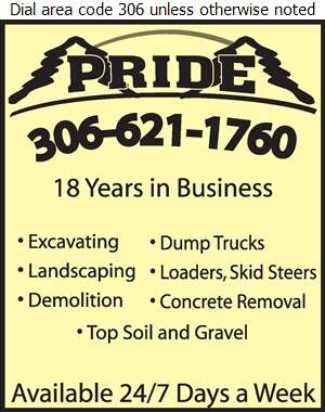 Pride Landscaping - Excavating Contractors Digital Ad
