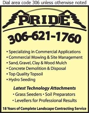 Pride Landscaping - Landscape Contractors & Designers Digital Ad