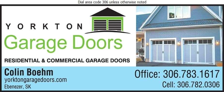 Yorkton Garage Doors - Doors Overhead Digital Ad