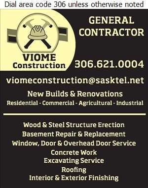 Viome Construction - Contractors General Digital Ad