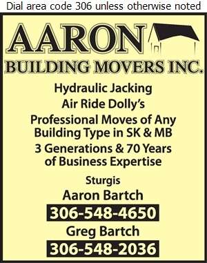 Aaron Building Movers Inc - Building Movers Digital Ad