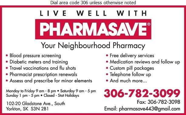 Pharmasave - Pharmacies Digital Ad