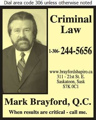 Brayford Shapiro (Criminal Lawyer) - Lawyers Digital Ad