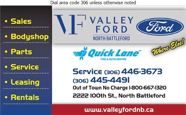 Valley Ford Sales (Quick Lane) - Auto Dealers New Cars Digital Ad