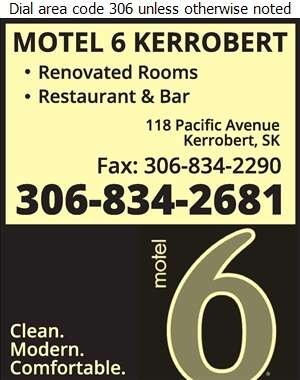 Motel 6 Kerrobert - Hotels Digital Ad