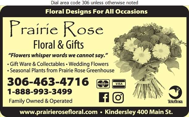 Prairie Rose Floral & Gifts - Florists Retail Digital Ad