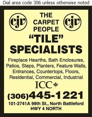 CJV The Carpet People - Tile Ceramic Contractors Digital Ad