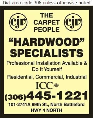 CJV The Carpet People - Hardwood Flooring Digital Ad