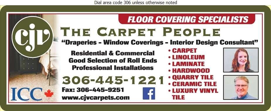CJV The Carpet People - Carpets & Rugs Retail Digital Ad