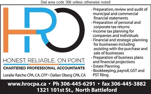 Holm Raiche Oberg Chartered Professional Accountants P C Ltd - Accountants Chartered Professional Digital Ad