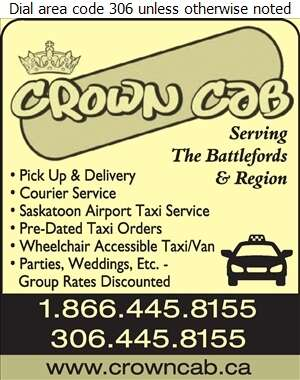 Crown Cab - Delivery Service Digital Ad
