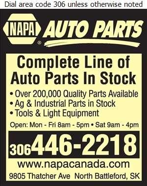 NAPA Auto Parts - Auto Parts & Supplies Retail Digital Ad