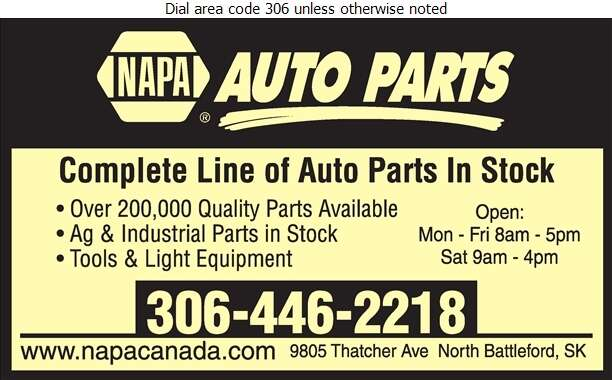 NAPA Auto Parts - Auto Parts & Supplies Retail Digital Ad