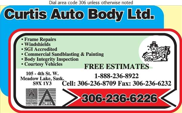 Curtis Auto Body Ltd - Auto Body Repairing Digital Ad