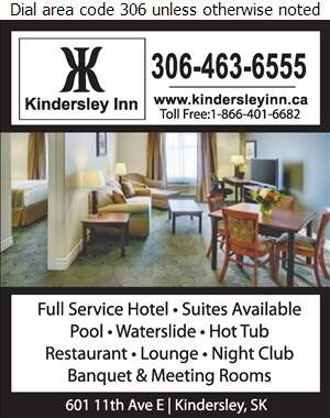 Kindersley Inn - Hotels Digital Ad