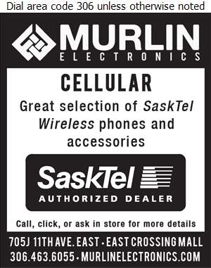 Murlin Electronics - Cellular Telephones Digital Ad