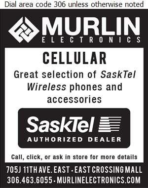 Murlin Electronics - Cellular Telephones Digital Ad