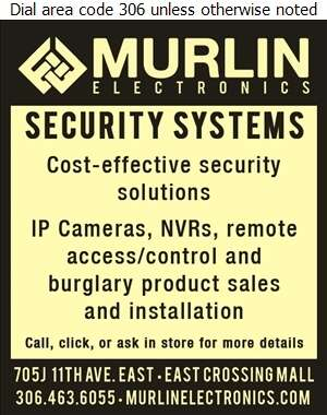 Murlin Electronics - Security Control Equipment & Systems Digital Ad