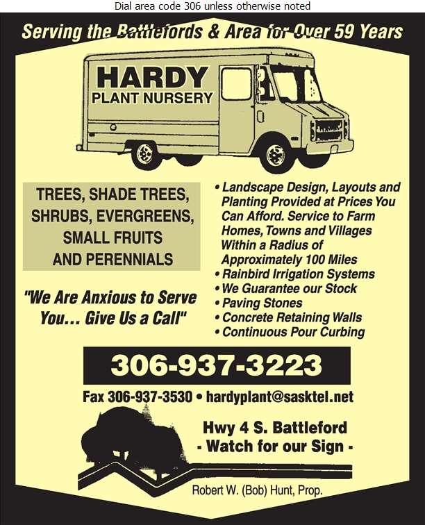 Hardy Plant Nursery - Landscape Contractors & Designers Digital Ad