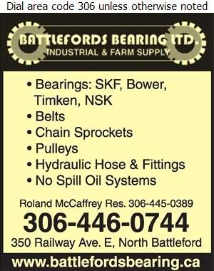 Battleford's Bearing & Farm Supply - Agricultural Implements Sales, Service & Parts Digital Ad