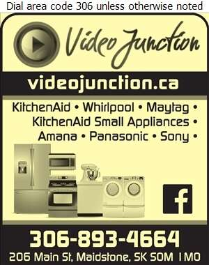 Video Junction - Appliances Major Sales, Service & Parts Digital Ad