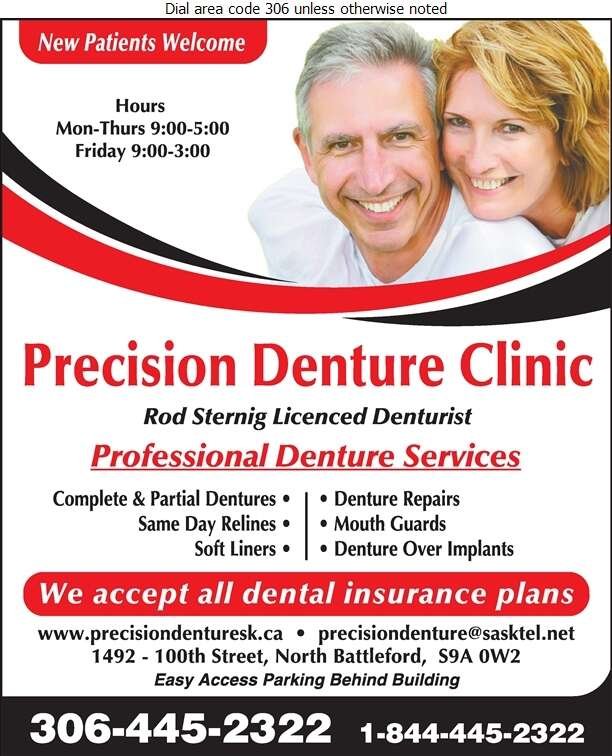 Precision Denture Clinic - Denturists Digital Ad