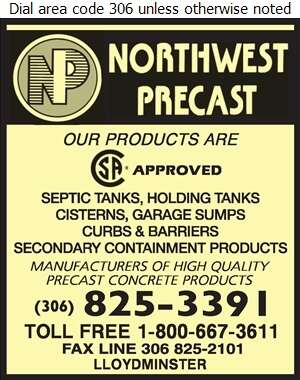 Northwest Precast - Septic Tanks Sales & Service Digital Ad
