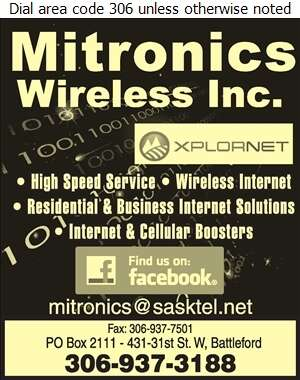 Mitronics - Internet Products & Services Digital Ad