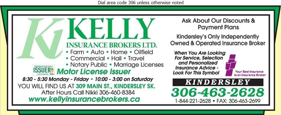 Kelly Insurance Brokers Ltd - Insurance Digital Ad