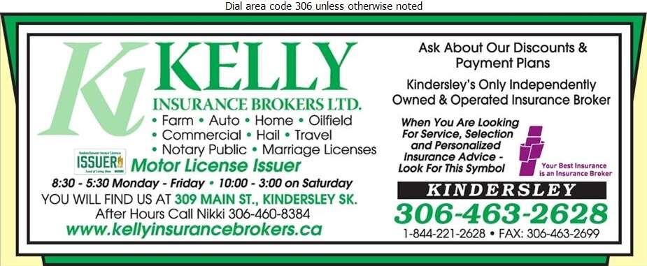 Kelly Insurance Brokers Ltd - Insurance Digital Ad