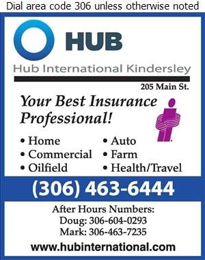 Hub International Kindersley (Doug Odnokon) - Insurance Digital Ad