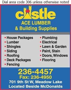 Ace Lumber & Building Supplies - Building Materials Digital Ad