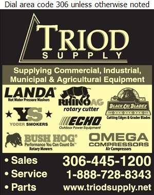 Triod Supply 2011 Ltd - Contractors Equipment Supplies & Service Digital Ad