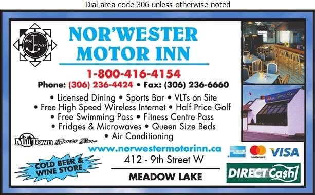 Nor'Wester Motor Inn - Motels Digital Ad