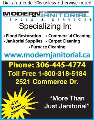 Modern Janitorial Sales & Services - Flood Damage Restoration & Floodproofing Digital Ad