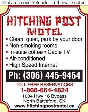 Hitching Post Motel - Hotels Digital Ad